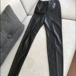 Pleather leggings Wilfred Free worn once